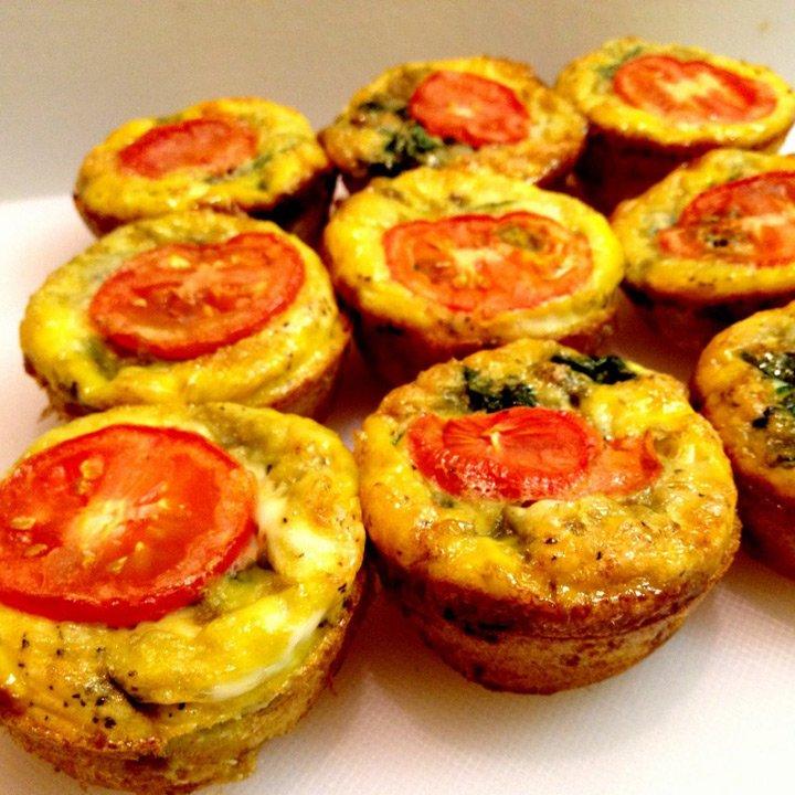 Mic dejun– Egg muffins sau cum să faci omletă fără să pierzi timpul