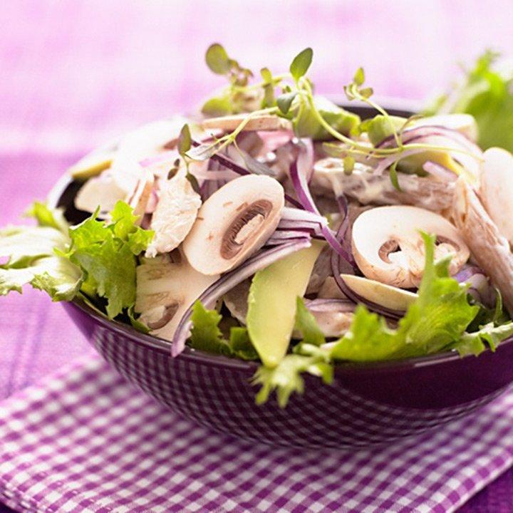 Reţete raw: Salată de ciuperci