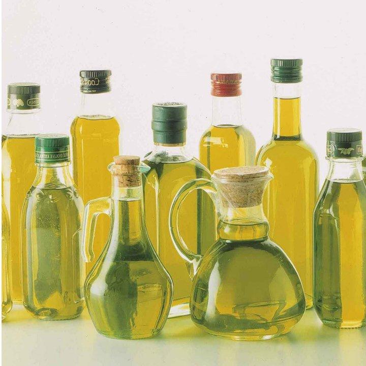 Uleiurile alimentare: uleiul de măsline, cel de floarea soarelui, cele vegetale şi cel de nucă de cocos