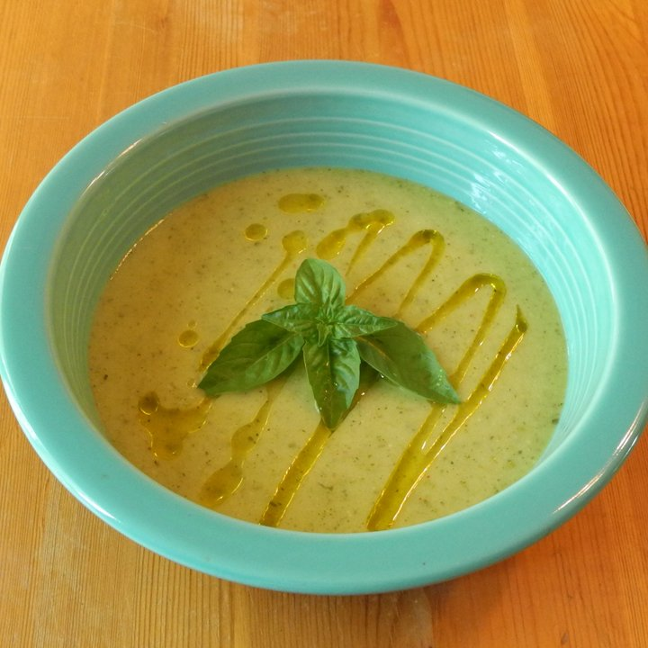 Reteta pentru supa crema de dovlecei