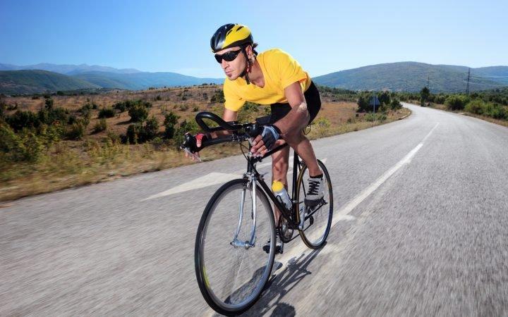 exerciții cardio pe bicicleta
