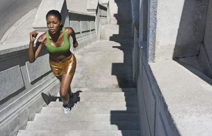 exerciții cardio pe trepte