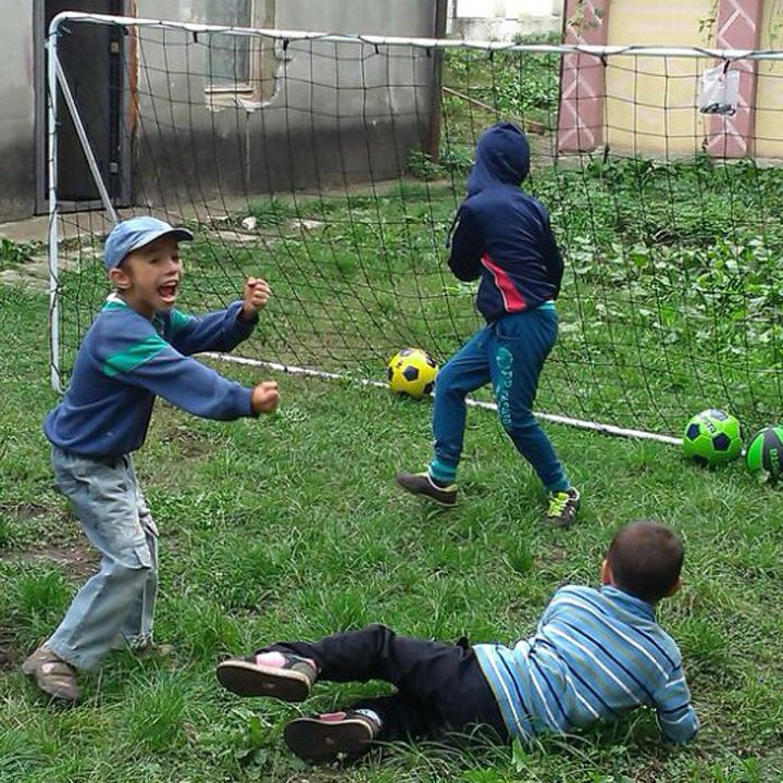 Prima sală de sport la sat