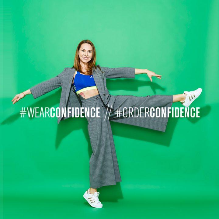 #Iwearconfidence