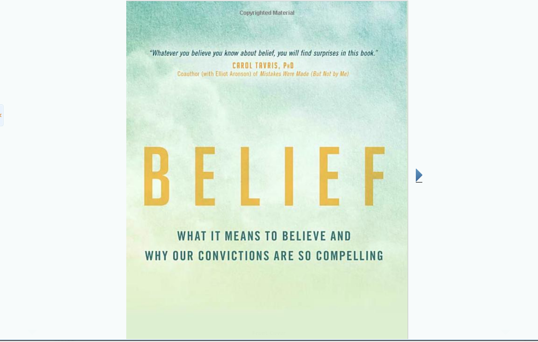 Belief: What It Means to Believe and Why Our Convictions Are So Compelling - Review