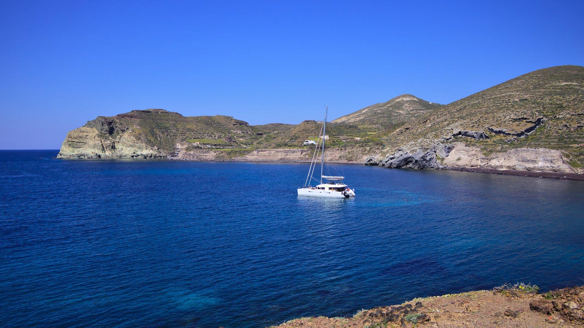 Cu catamaranul in Grecia 4