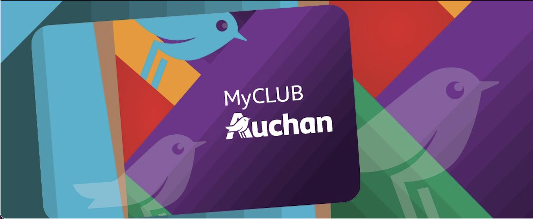 Cardul MyClub Auchan 2